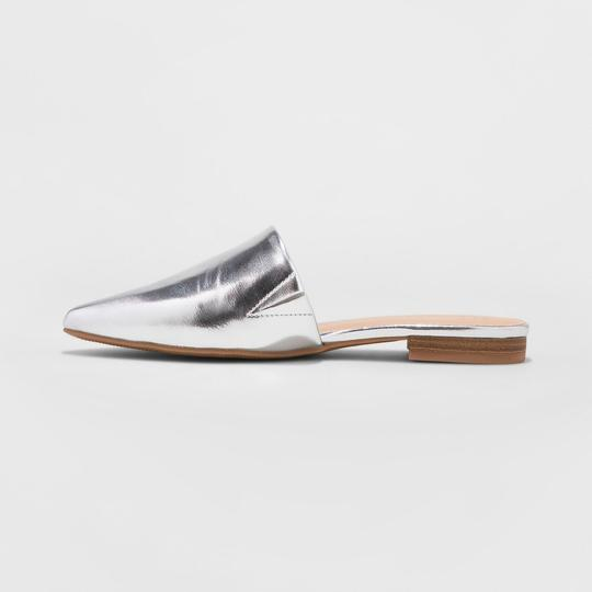 A New Day Silver Mules Image 1