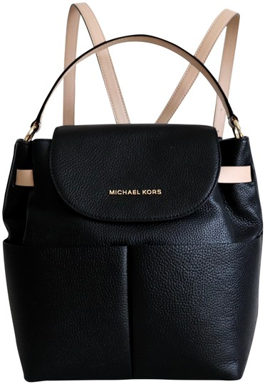 Preload https://img-static.tradesy.com/item/26872818/michael-kors-bedford-large-convertible-black-leather-backpack-0-2-540-540.jpg