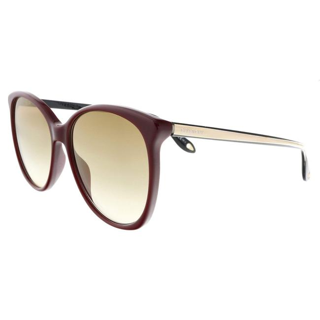 Givenchy Raspberry Oval Sunglasses Givenchy Raspberry Oval Sunglasses Image 1