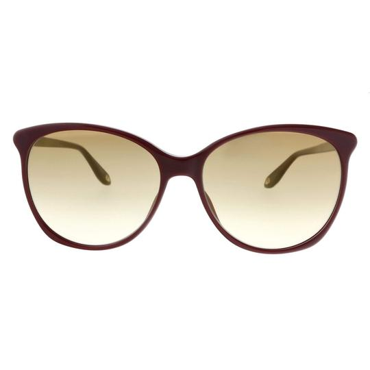 Givenchy Givenchy Raspberry Oval Sunglasses Image 1