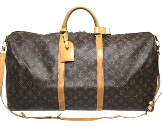 Preload https://img-static.tradesy.com/item/26872850/louis-vuitton-keepall-lv-bandouliere-with-strap-name-tag-poignet-brown-canvas-weekendtravel-bag-0-4-540-540.jpg