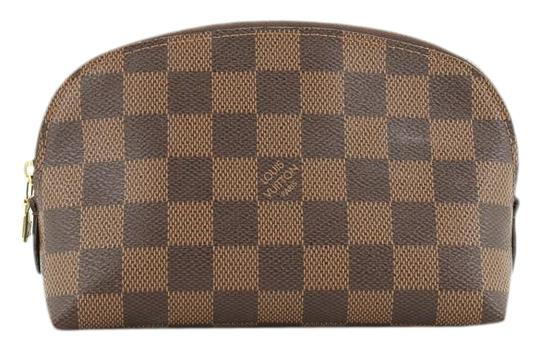 Preload https://img-static.tradesy.com/item/26872855/louis-vuitton-cosmetic-pouch-damier-brown-cotton-canvas-clutch-0-1-540-540.jpg
