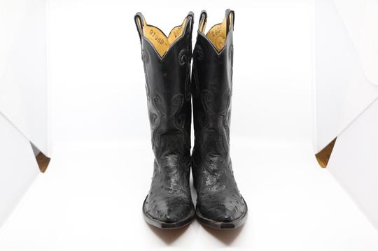 Billy Martin's New York Black Boots Image 1