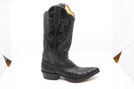 Billy Martin's New York Black Boots Image 7