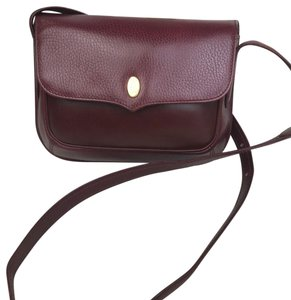 Cartier Leather Vintage Cross Body Bag