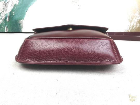 Cartier Leather Vintage Cross Body Bag Image 5