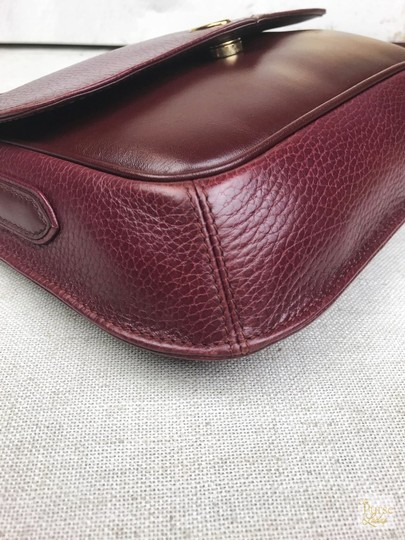 Cartier Leather Vintage Cross Body Bag Image 6