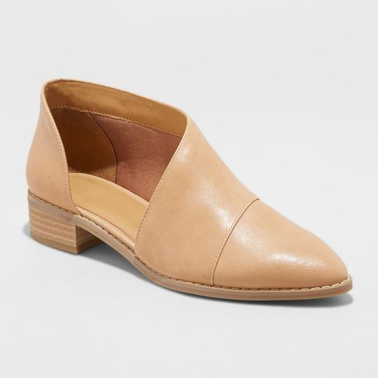 Universal Thread Bootie Tan Mules Image 1