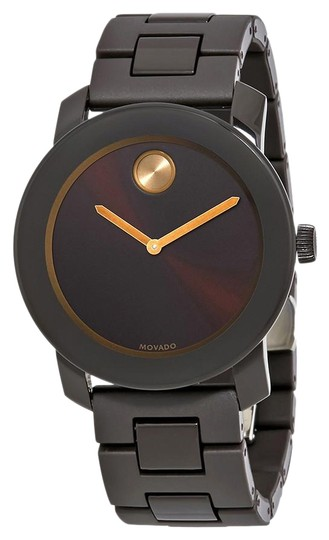 Preload https://img-static.tradesy.com/item/26872894/movado-brown-men-s-bold-sunray-dial-stainless-steel-3600462-watch-0-1-540-540.jpg