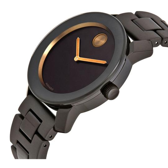 Movado MOVADO Men's Bold Brown Sunray Dial Stainless Steel Watch 3600462 Image 1