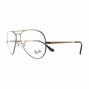 Ray-Ban Demo Customisable Lens RX6489 2531 55 Unisex Pilot