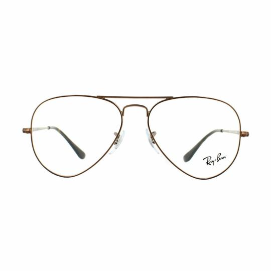 Ray-Ban Demo Customisable Lens RX6489 2531 55 Unisex Pilot Image 1