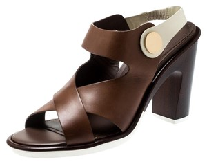 Tod's Leather Brown Sandals