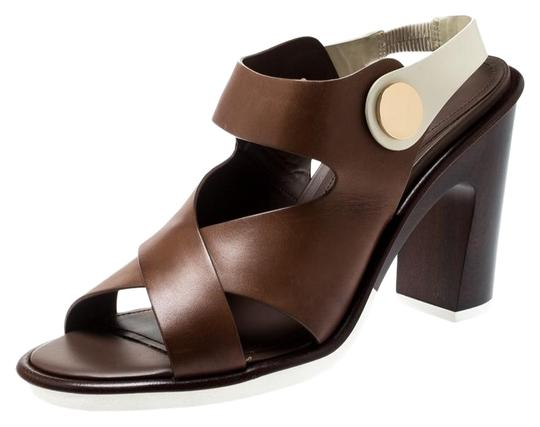 Tod's Leather Brown Sandals Image 0