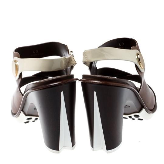 Tod's Leather Brown Sandals Image 2