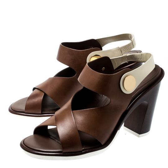 Tod's Leather Brown Sandals Image 5