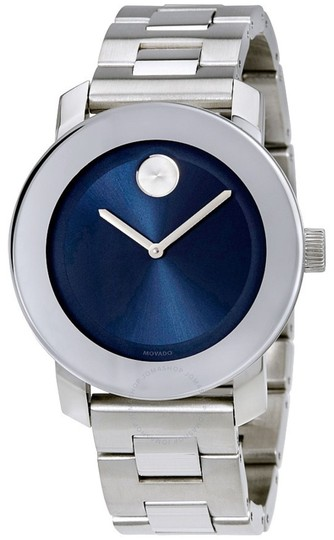 Preload https://img-static.tradesy.com/item/26872917/movado-silver-bold-stainless-steel-bracelet-blue-dial-womens-3600396-watch-0-0-540-540.jpg