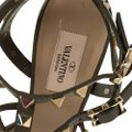 Valentino Leather Green Sandals Image 5
