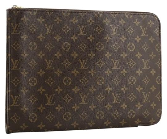 Preload https://img-static.tradesy.com/item/26872936/louis-vuitton-poche-documents-monogram-brown-coated-canvas-clutch-0-1-540-540.jpg