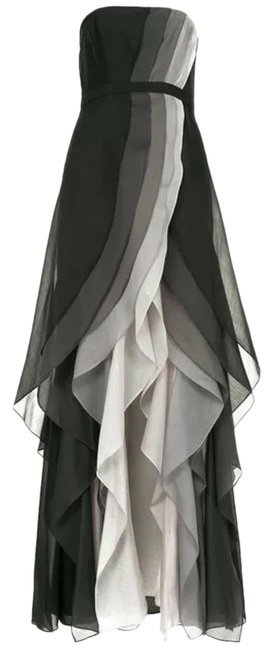 Preload https://img-static.tradesy.com/item/26873099/halston-black-ombre-heritage-tiered-strapless-gown-new-long-formal-dress-size-0-xs-0-1-650-650.jpg