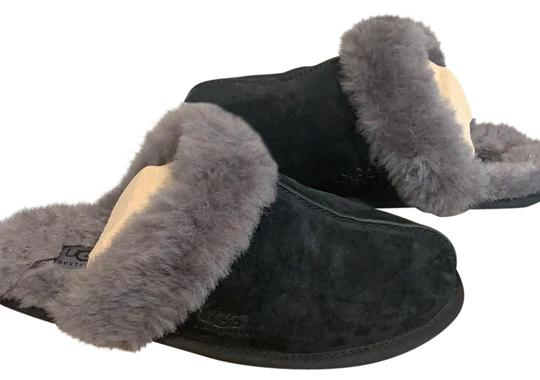 Preload https://img-static.tradesy.com/item/26873103/ugg-australia-black-scuffette-ii-water-resistant-slippers-flats-size-us-8-regular-m-b-0-1-540-540.jpg