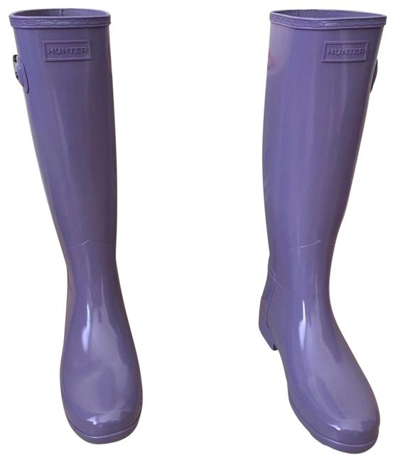 Item - Purple New Knee High Boots/Booties Size US 7 Regular (M, B)