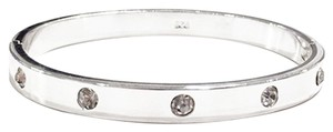 Modest Sparkles Bangle 925 Silver