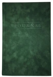 Velvet Forest Green Journal [ Roxanne Anjou Closet ]