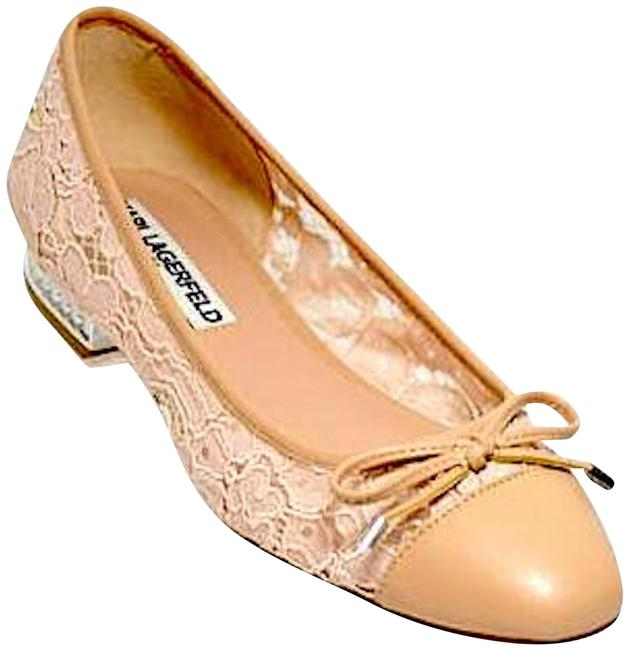 Item - Nude Ballet Flats Size US 5 Regular (M, B)