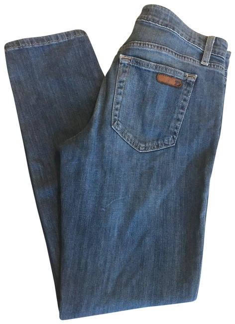 Item - Blue Medium Wash Ankle Narrow Straight Leg Jeans Size 6 (S, 28)