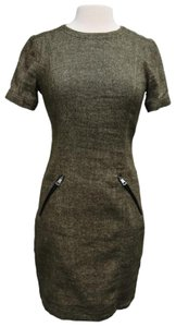 Burberry Tweed Midi Dress