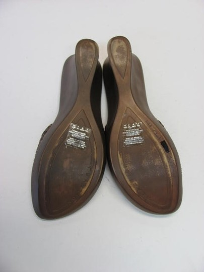 Kenneth Cole Reaction Good Condition Size 8m bronze Mules