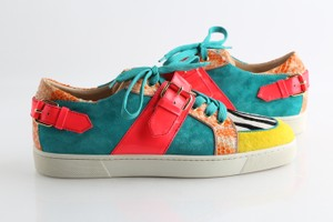 Christian Louboutin Multicolor Mens Athletic Sneakers Shoes