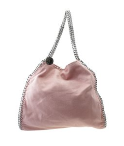 Stella McCartney Faux Leather Tote in Pink