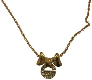 Givenchy Vintage Bow Necklace