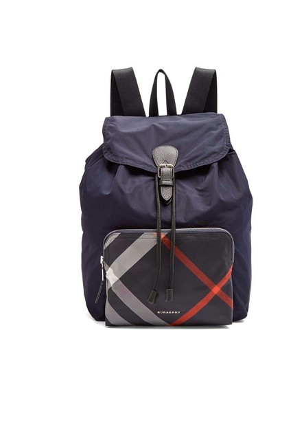 Item - Packable Navy Nylon Backpack