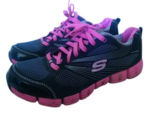 Skechers Black and Pink Athletic