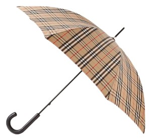 Burberry checked shell umbrella