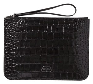 Balenciaga black Clutch