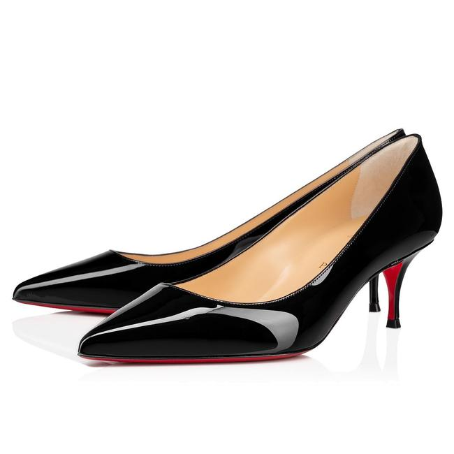 Item - Black Kate 55 Patent Leather Pumps Size EU 37.5 (Approx. US 7.5) Regular (M, B)