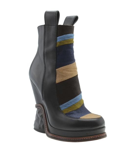 Item - Multi-color Pony Hair Mid - Calves (178500) Boots/Booties Size US 9 Regular (M, B)