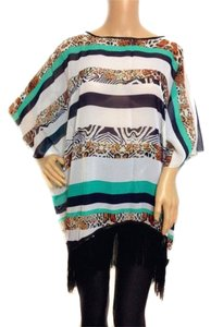 Other Cover Up Poncho Summer Blouse Cardigan