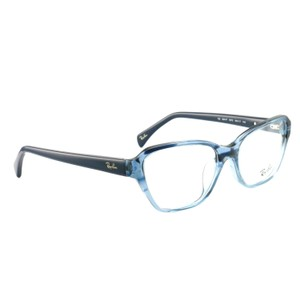 Ray-Ban RB5341F55725517140 Clear Blue Acetate 55 17 140 Authentic