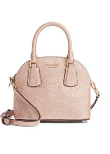 Kate Spade Satchel in champagne gold