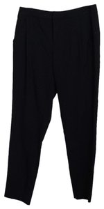 Everlane Pleated Trouser Pants Black