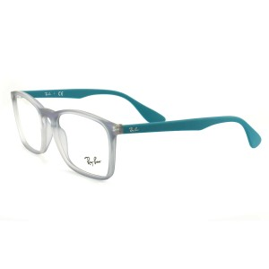 Ray-Ban RB704554845518145 Transparent Blue Acetate 55 18 145 Authentic