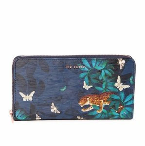 Ted Baker Ted Baker Eulaa Houdinii Zip Leather Matinee Wallet