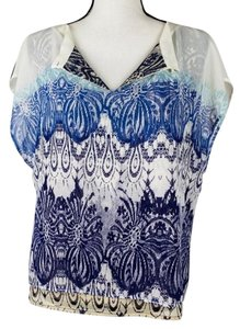 CAbi Top Blue Purple