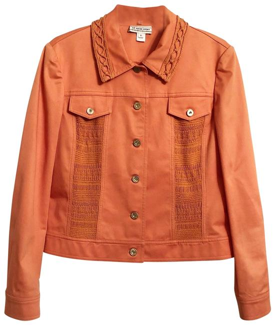 Preload https://img-static.tradesy.com/item/26882123/st-john-peach-cotton-blend-sweater-panel-jacket-size-6-s-0-1-650-650.jpg
