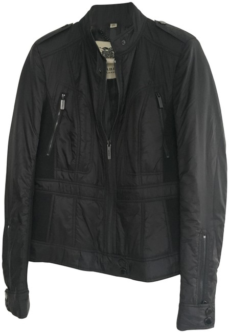 Item - Black London Fitted Jacket Size 8 (M)